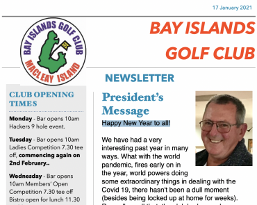 Read Jan 2021 Newsletter